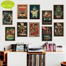 Cazafantasmas perfecto catchphrase película clásico Vintage Poster pintura hogar Bar carteles de decoración