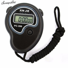 Sport Watches Digital Professional Handheld LCD Chronograph Clock Stopwatch Timer Stop Watch wholesale