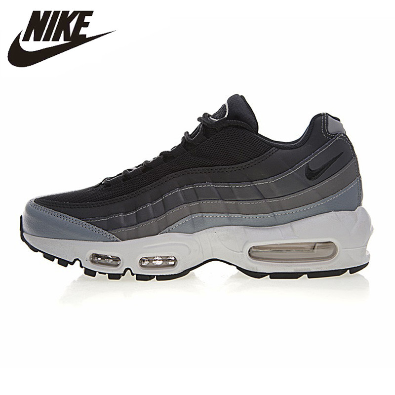 best cheap 97ccc a495c NIKE AIR MAX 95 ESSENTIAL Men s Running Shoes, Grey, Shock-absorbing Non-