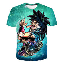 Newest Dragon Ball Ultra Instinct Goku Super Saiyan Men Tshirt 3D Printed Summer t shirt Funny Shirt Asian Size