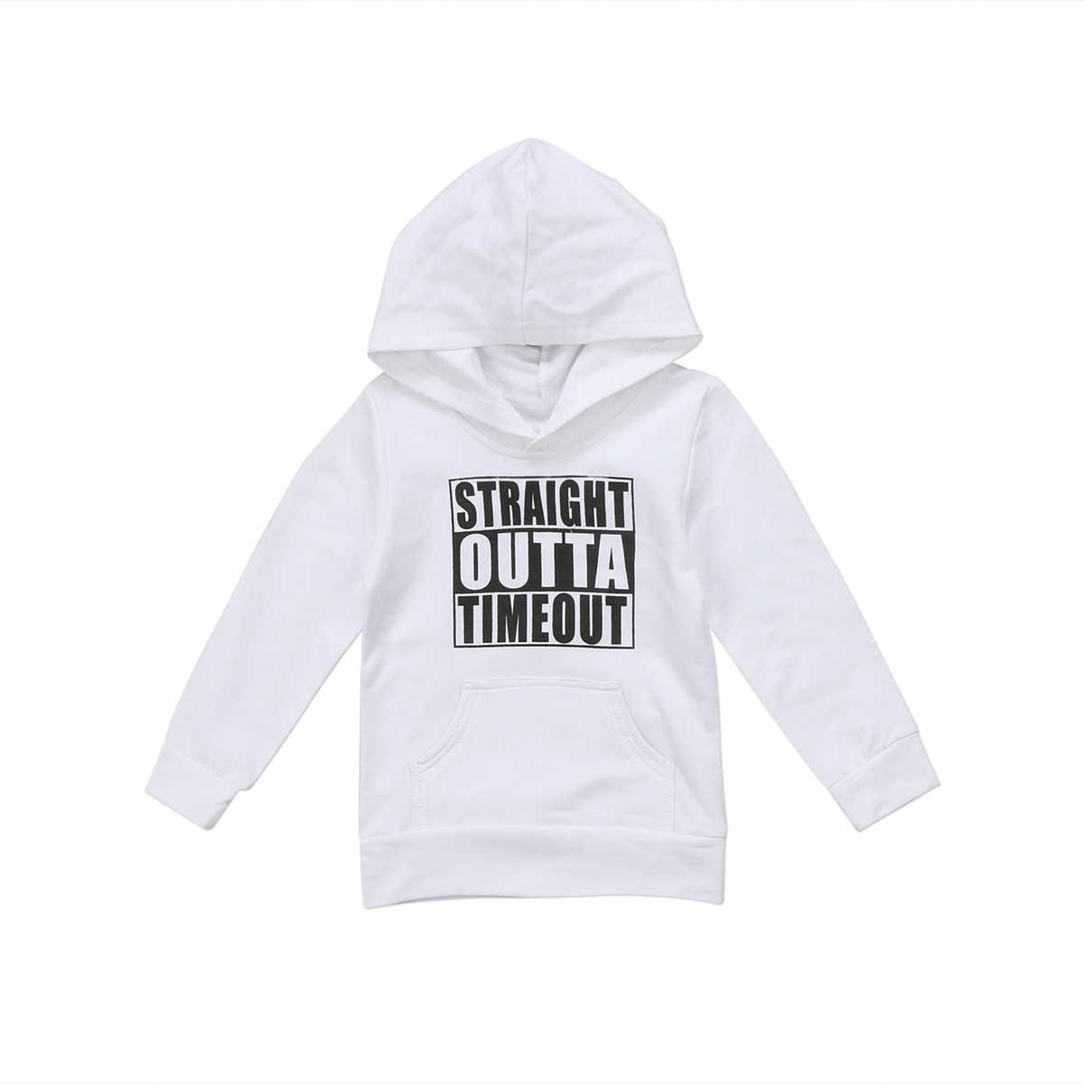 Fashion Toddler Kids Baby Boy Girl Hoodie 2017 New Long Sleeve Pullover Coat Tops Hooded Sweatshirt Outdoor 0-5T
