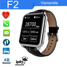 F2 smart watch waterproof IP67 for IOS iPhone 4 4S 5 5S 6 6Plus Samsung S6