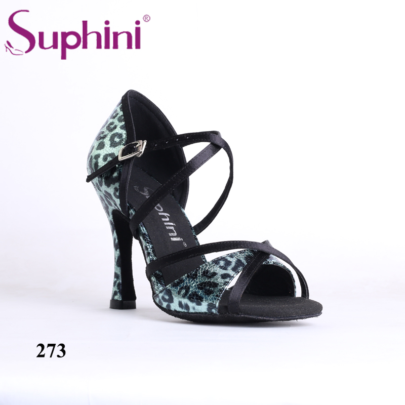 Including Fast Shipping Suphini New Arrival Latin Dance Shoes for Party Shoes NEW COLLECTION Leopard Woman Dance Shoes free shipping suphini you can choose heels latin dance shoes basic model woman latin dance shoes