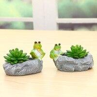 Succulent Plants Flower Pot Ornaments Home Furnishing Personality Resin Desktop