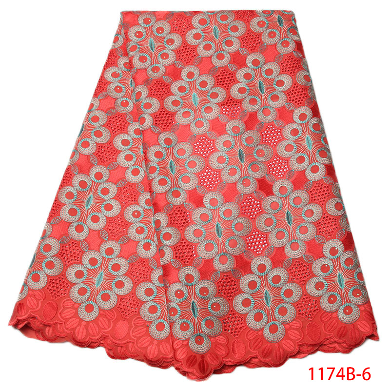 2017 High Quality African French Lace Fabric White Swiss Voile Lace in Switzerland With Stones Nigeria