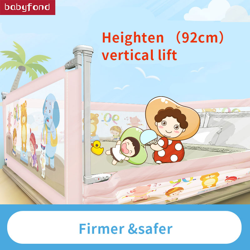 KOOLDOO Bed safety Fence Baby Anti Fall Protection Fence Baby Bed fences Vertical Elevator Bed Guardrail Universal Baffle baby crib fence bed fence fence baby bed 2 m double bed 1 8 general bedrail baffle