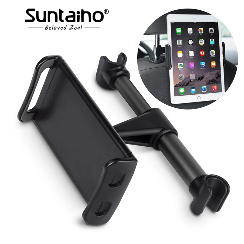 Aliexpress com : Buy Suntaiho 360 Degree Rotate Car Back Seat Holder for  iPhone iPad Mini Air Pro Rear Pillow Stand for Samsung Xiaomi Tablet Device