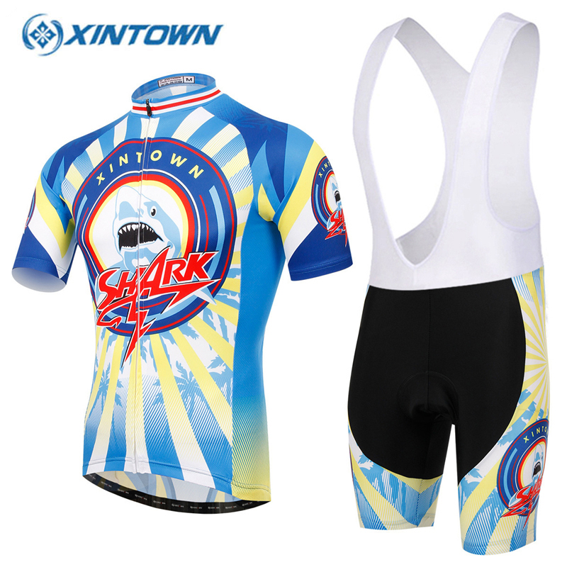 XINTOWN Bike jersey bicicleta Cycling Clothing MTB Bike downhill jersey Pro Maillot Ciclismo GEL Breathable Pad