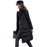 Winter Jacket Women High Quality Women's Coat Spring Autum Female Windproof Thin Parka Long Plus Size Designs Winter Coat jf008