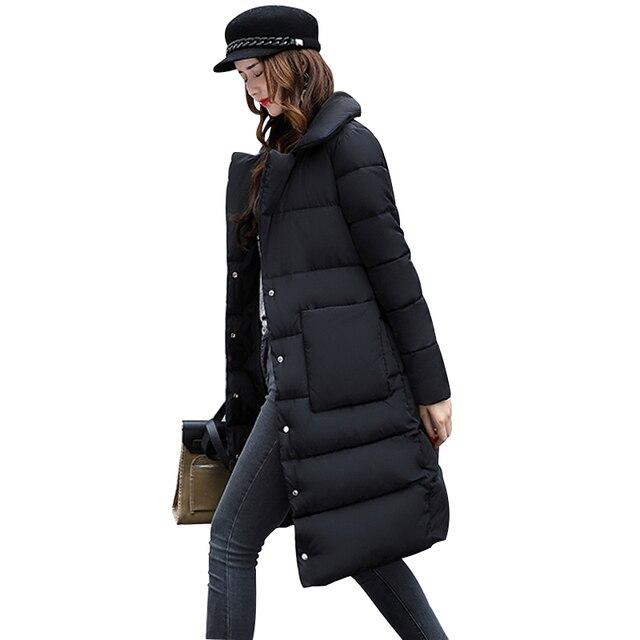 Big Sale Winter Jacket Women High Quality Women's Coat Spring Autum Female Windproof Thin Parka Long Plus Size Designs Winter Coat jf008