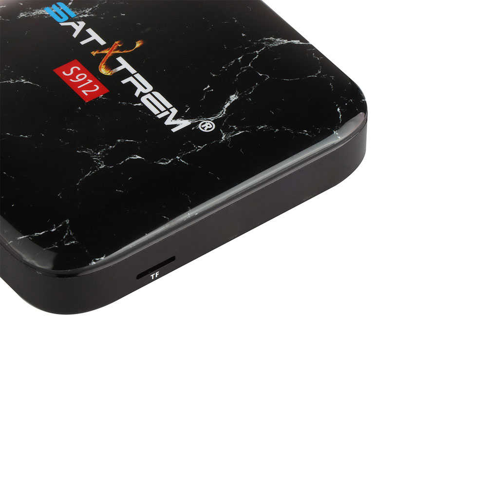 Satxtrem WT18 ATV 3GB 32GB intelligent Android 7.1 TV boîte Google commande vocale Amlogic S912 WiFi LAN lecteur multimédia PK X96mini X96 Max