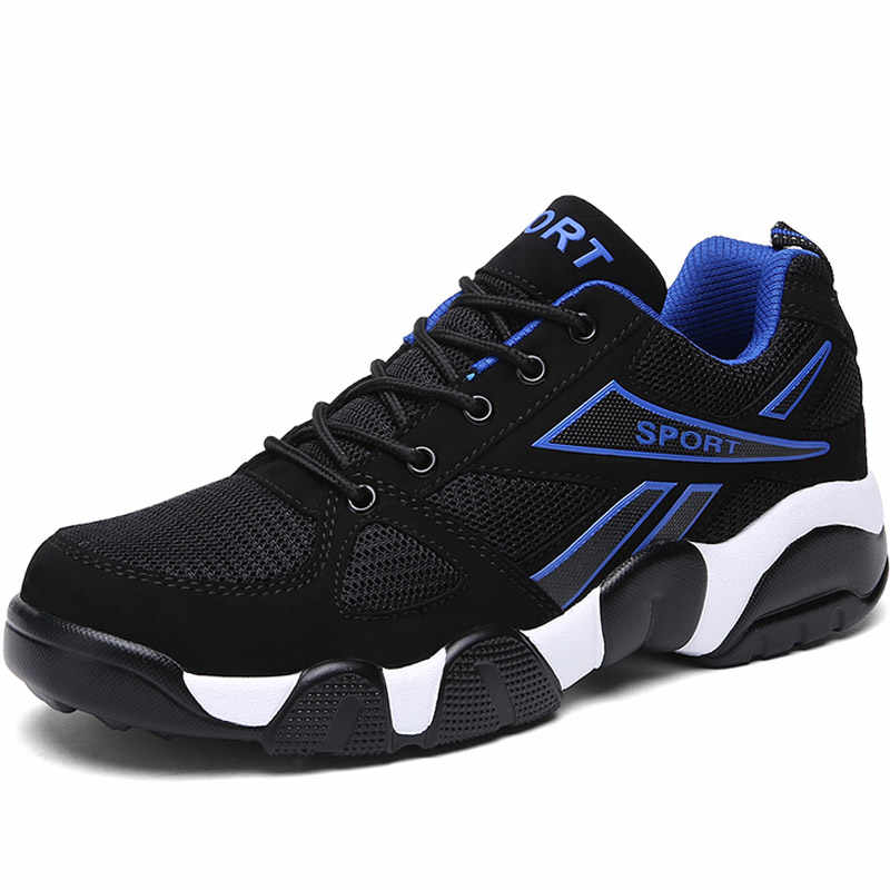 Hundunsnake שחור Mesh סניקרס גברים קיץ זכר ספורט נעליים למבוגרים Mens ריצה נעלי נשים של נעלי ספורט גברים כושר Krasovki t131