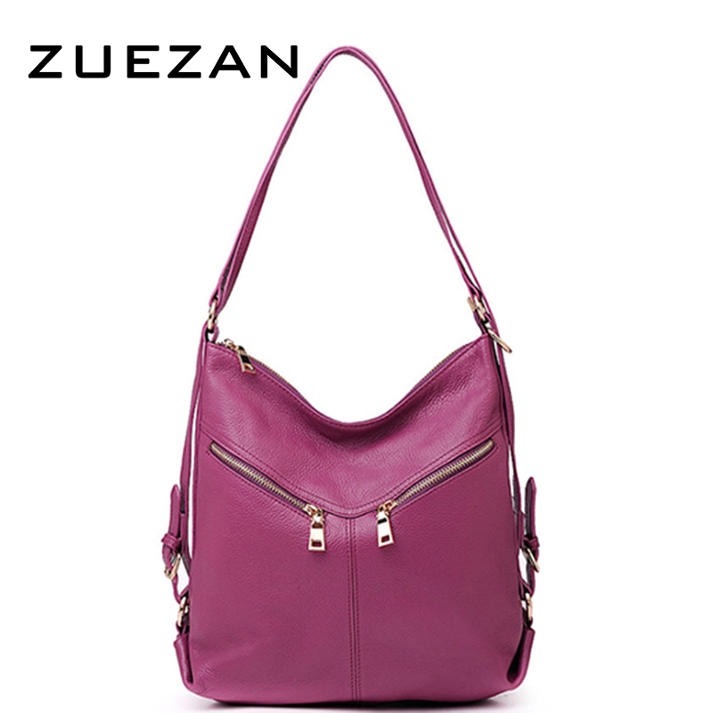 Shipped after September 1 Backpack Women Shoulder bag Genuine Leather Fashion First layer leather bags