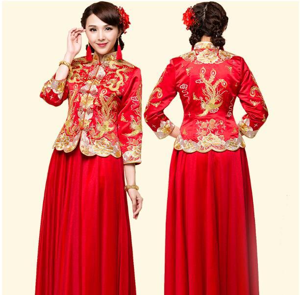 Online buy wholesale cheongsam dress from china cheongsam for Cheap wedding dress costume
