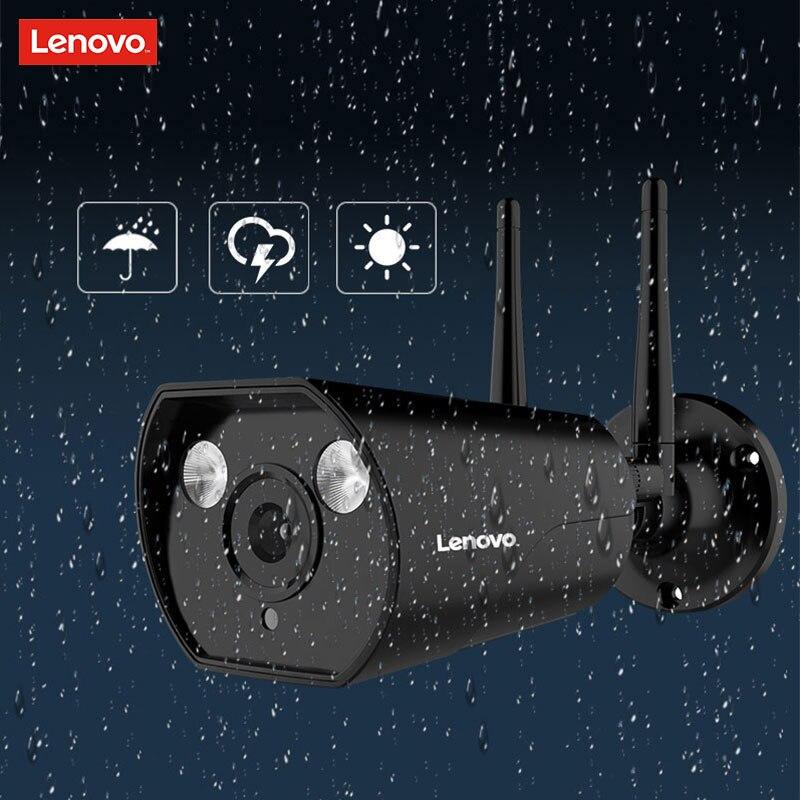 LENOVO double antenne caméra IP ONVIF 1080 P caméra de vidéosurveillance étanche extérieure HD Vision nocturne Wifi caméra de Surveillance sans fil - 3
