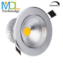 Ceiling LED Downlights Dimmable COB Recessed Light 5W 7W 10W 12W Wall Led Spot Lamp Down Lights For Indoor Lighting AC110V 220V