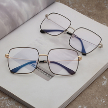Metal Clear Eye Glasses Frames Fashion Optical Mens Spectacl
