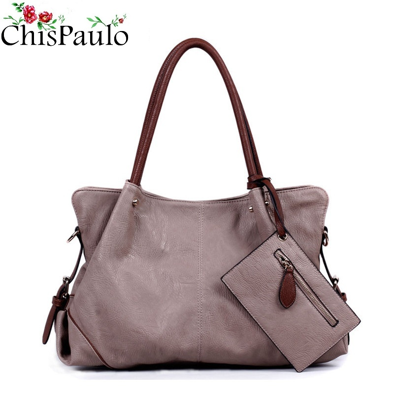 CHISPAULO Luxury Brand Designer Handbags High Quality Casual Cowhide Genuine Leather Bags Composite Women Purses And Handbags luxury genuine leather bag fashion brand designer women handbag cowhide leather shoulder composite bag casual totes