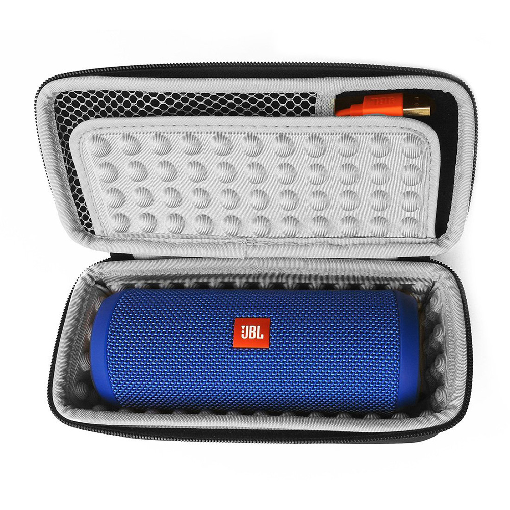 Portable Travel Box Case For JBL Flip 2 3 4 Zipper Sleeve Portable Protective Hard Case Cover For JBL Flip 3 4 Bluetooth Speaker