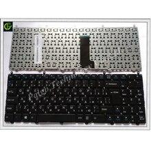 Russo RU Tastiera per il DNS Clevo W650EH W650SRH W650 W655 W650SR W650SC R650SJ W6500 W650SJ w655sc w650sh MP 12N76SU 430 Nero