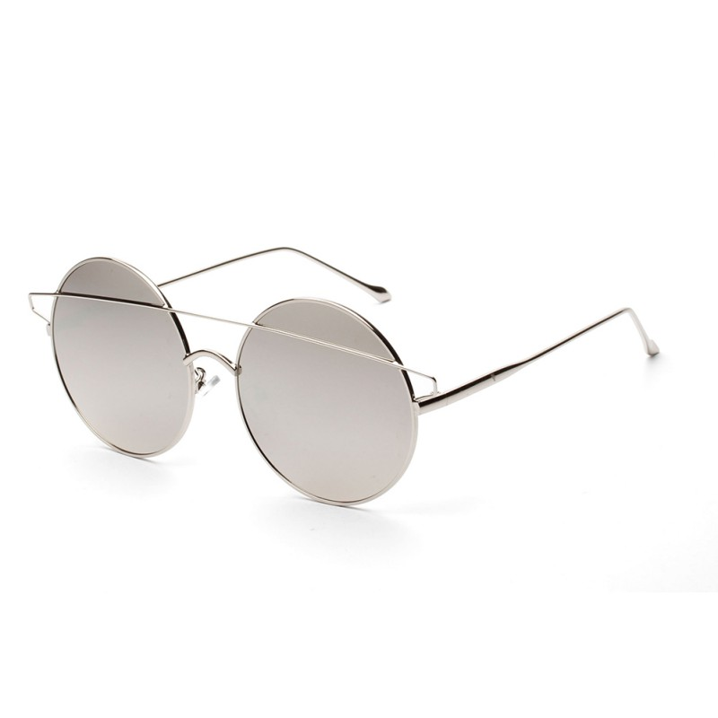 New Sale Sunglasses Women Luxury Brand Designer Vintage Sun Glasses Female Rivet Shades Big Frame Style Eyewear UV400