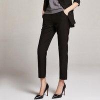Spring Women'S Pants Office Ladies Style Wear Ankle Length Stretch Skinny Leggings Lady Slim Harem Pants Women A5102