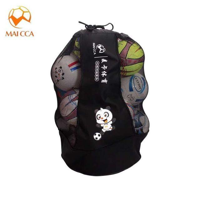 Maicca Volleyball Balls Bag Backpack Super For Football Basketball Soccer 25 Pcs Fit Ball Net