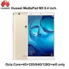 Huawei MediaPad M3 Kirin 950 octa core 4G Ram 32G/64G/128G Rom 8.4 inch Wifi only IPS Android 6 origal huawei M3 #Global rom