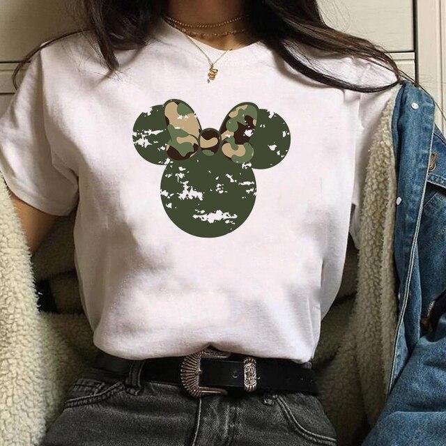 Women Shirt Cartoon Shy...