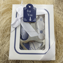 Anchor Soda Glass Cup Beer wine Bottle Opener Wedding Party Favor Gifts For