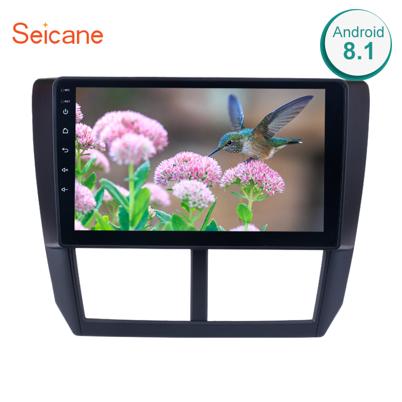 Seicane 9 Inch 2din Android 8.1 Car Radio For Subaru Forester 2008 2009 2010 2011 2012 Head Unit Wifi 3G Multimedia Player GPS