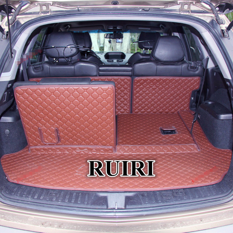Good Quality! Special Trunk Mats For Acura MDX 7 Seats