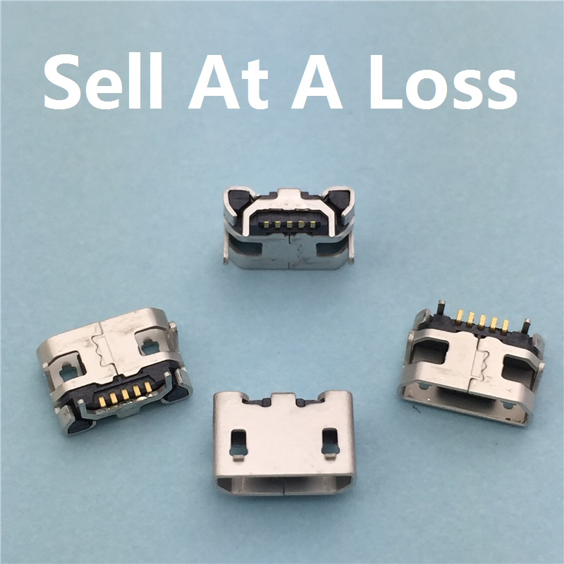10pcs/lot Micro USB 5pin Jack Female Socket G23 Connector OX Horn Type for Tail Charging Mobile Phone Free Shipping 10x mini usb type b 5pin female connector adapter for mobile phone mini usb jack connector 5 pin charging socket plug hy1374 10