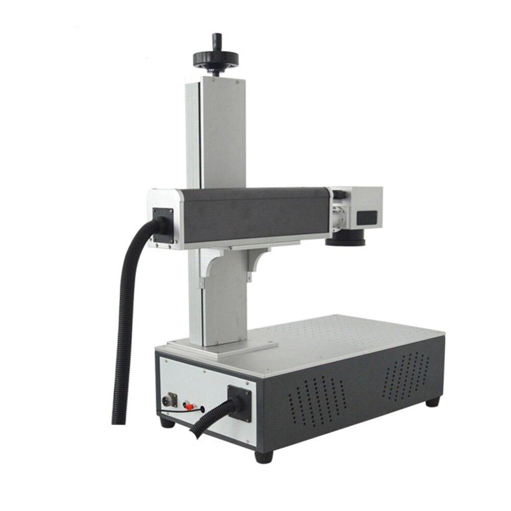 Лазерная Маркировочная гравировальная машина для металла/частичная Неметаллическая