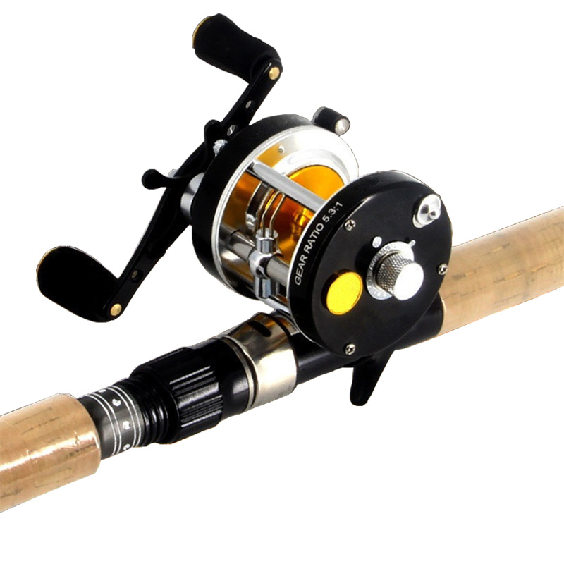 High Strength All Metal Trolling Fishing Reels Drum Reel Saltwater Fishing Reel Baitcasting Wheel metal round jigging reel 6 1 bearing saltwater trolling drum reels right hand fishing sea coil baitcasting reel