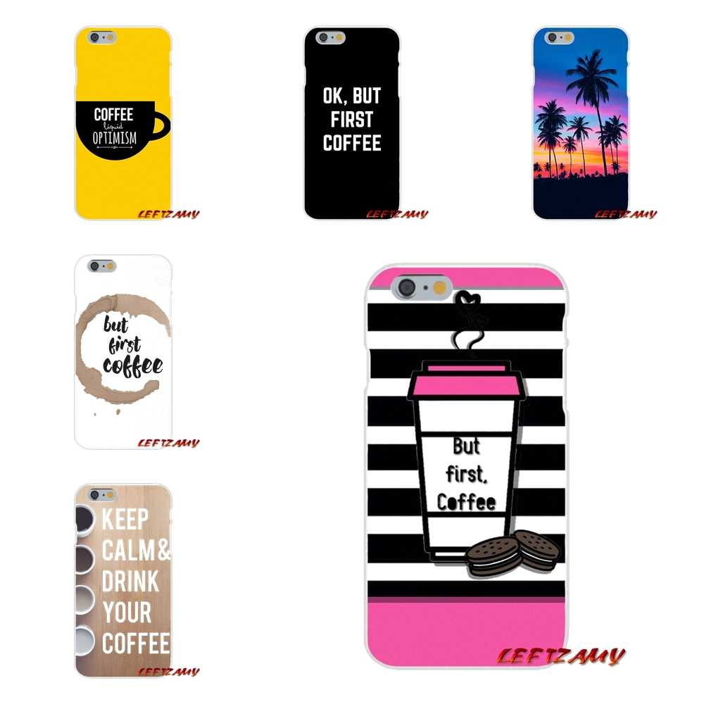 Ok But First Coffee For Samsung Galaxy A3 A5 A7 J1 J2 J3 J5 J7 2015 2016 2017 Accessories Phone Cases Covers