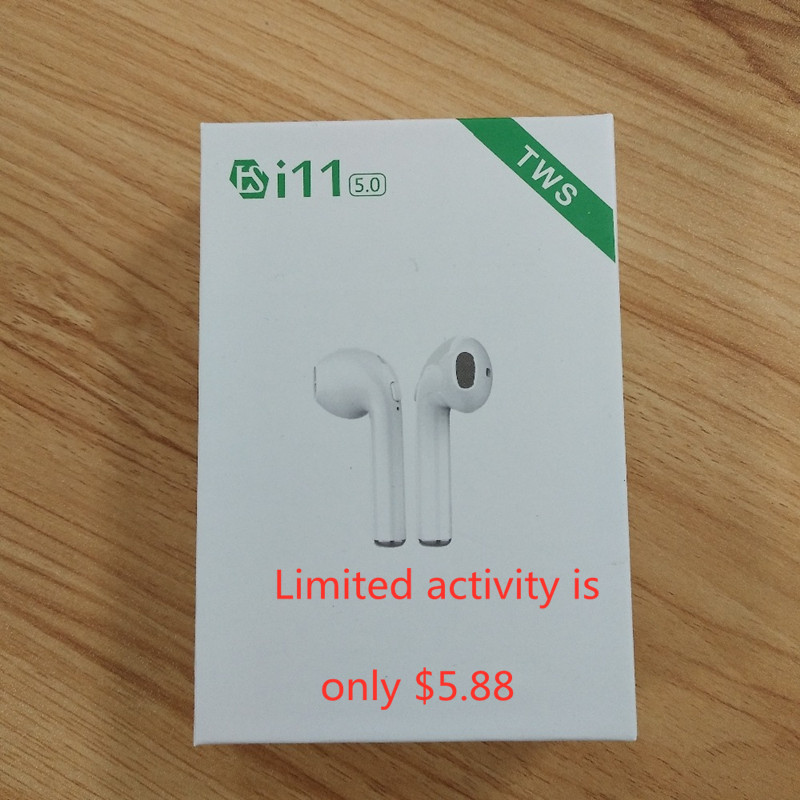 Original I11 TWS Bluetooth 5.0 I11 Wireless Stereo Earbuds Better Than I12 I88 I9s Tws I10 Tws For Air Dots IphoneXS MAX