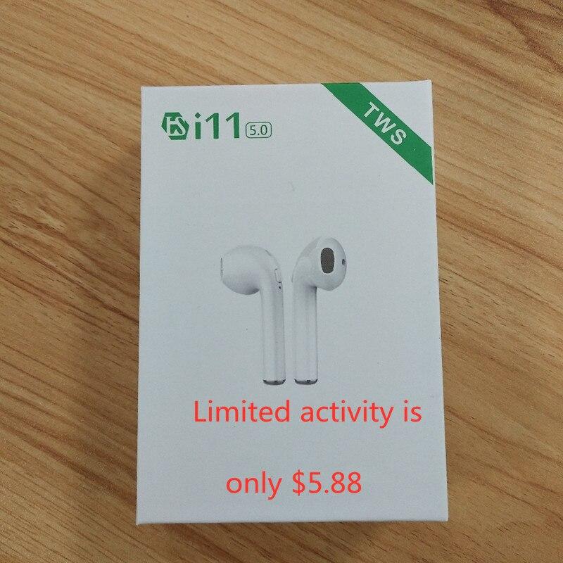 Original i11 i12 TWS 5.0 1:1 fones de ouvido Estéreo Sem Fio Bluetooth melhor do que i88 i9s tws i10 tws para ar pontos iphoneXS MAX