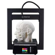 JGAURORA 3d принтер A5 большой принт Размеры 305X305X320 мм резюме печати 2,8 »HD Сенсорный экран с с подогревом сборки плиты