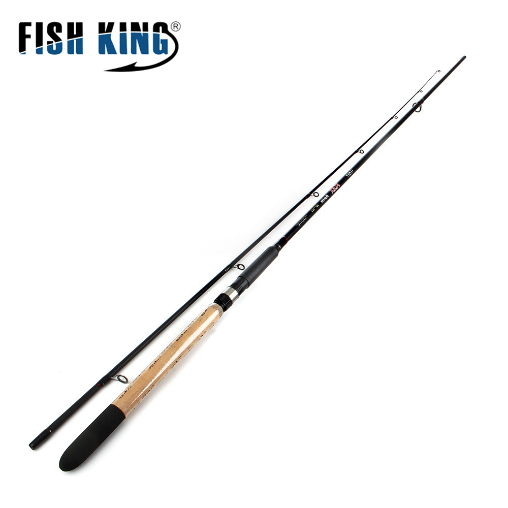 FISH KING 99% Carbon 2.1M 2.4M 2.7M 2 Section Lure Weight 5-25g Soft Lure Fishing Rod Spinning Fishing Rod fish king 99% carbon 2 1m 2 7m 4 section soft lure fishing rod lure weight 15 40g spinning fishing rod for lure fishing