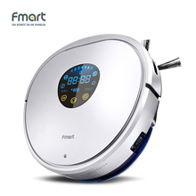 Fmart YZ-U1S Robot Vacuum Cleaner UV Dust Sterilize With Self-Charge Remote Control Auto Cleaning Aspirator