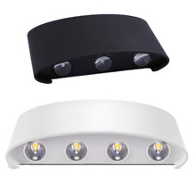 8W/6W/4W/2W Modern Aluminum Balcony Patio Wall Lights  Indoor Led Wall Lamps Warm Cold White RGB Led Light все цены