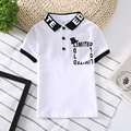 INMUSION 2017 summer new British luxury brand baby boys clothing short-sleeved polo shirt lapel classic plaid casual sportswear