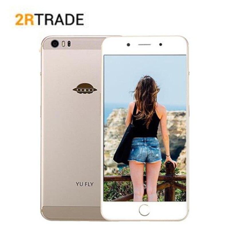 YU FLY F9 6.0 ''2 K 2560 × 1440 FHD écran 4GB + 64GB Snapdragon 653 smartphone Octa Core 4G TLE empreinte digitale 4180mAH téléphone portable