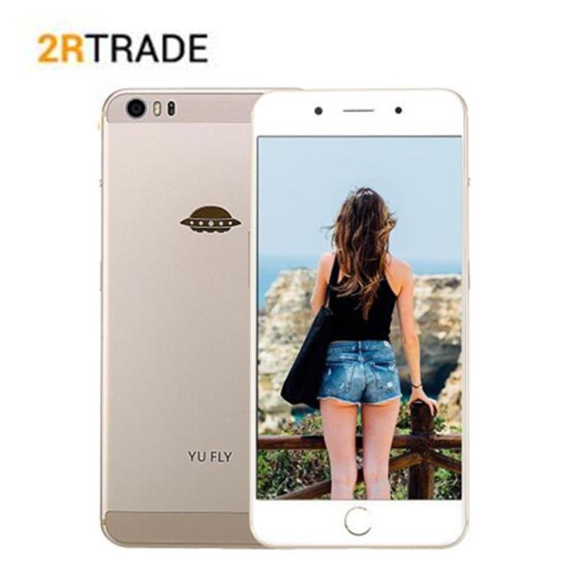 YU FLY F9 6.0'' 2K 2560×1440 FHD screen 4GB +64GB Snapdragon 653 smartphone Octa Core 4G TLE Fingerprint 4180mAH mobile phone