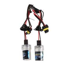2 UNIDS 35 W 12 v AC Xenon Bombillas H7 HID 4300 k 5000 K 6000 K 8000 K lámpara de Xenón Lámpara de Repuesto Todas Temperatura de Color de Luz Blanca MGO3
