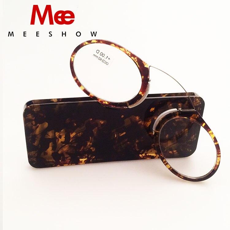 TORTOISE Mini Reading Glasses 1 0 to 3 5 Portable SOS font b Wallet b font