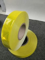 PVC Reflective Strip Night Reflective Safety Warning Tape For Clothing