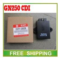 motorcycle GN250 TU GN 250 Digital Ignition Control Module CDI Box UNIT 6pin plug 250cc accessories free shipping