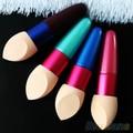 Das mulheres Maquiagem Cosméticos Fundação Creme Corretivo Líquido Pirulito Esponja Escova 1QBC 4BJA